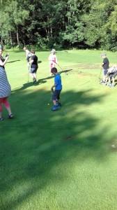 Výlet na golf